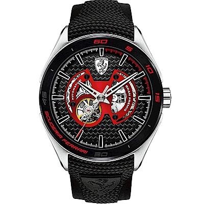 FERRARI 法拉利競速寶車機械運動腕錶/FA0830348