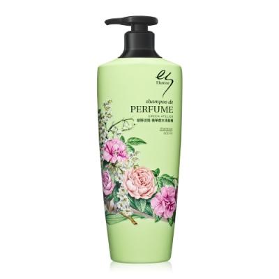 (福利品)Elastine 綠野迷情奢華香水洗髮精 600ml
