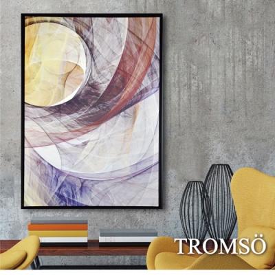TROMSO 時尚風華抽象有框畫大幅-光環樂章W963