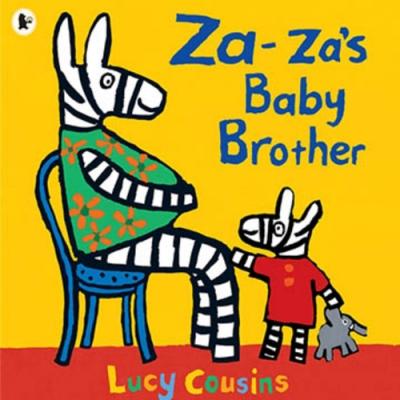 Za-za s Baby Brother Za-za 有弟弟了!平裝繪本