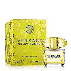 Versace凡賽斯 香愛黃鑽女性淡香水小香5ml