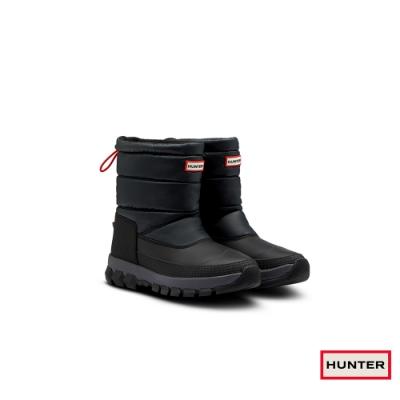 HUNTER -男鞋 - Original短筒雪靴-黑
