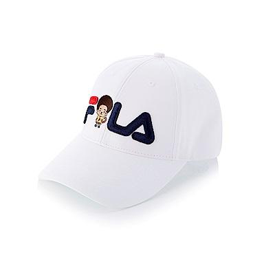 FILA Wonnie Friends 時尚LOGO帽 HTT-1204-BK