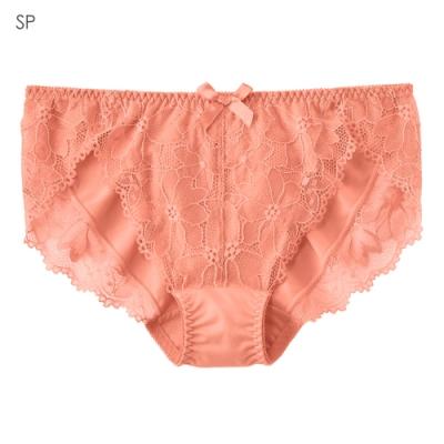aimerfeel 雅緻蕾絲淑女內褲-淺鮭紅-959021-SP