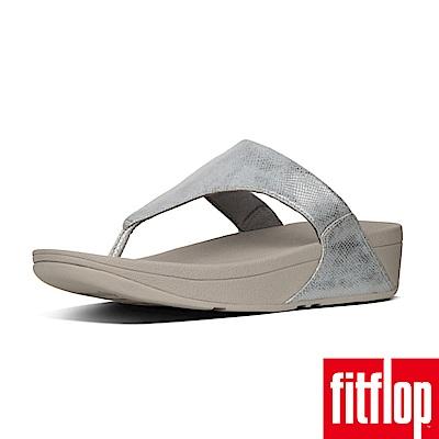 FitFlop LULU TOE-THONG SHIMMER-PRINT銀