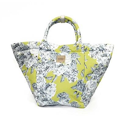 VOVAROVA空氣包-造型百變托特包-花漾 • 黃