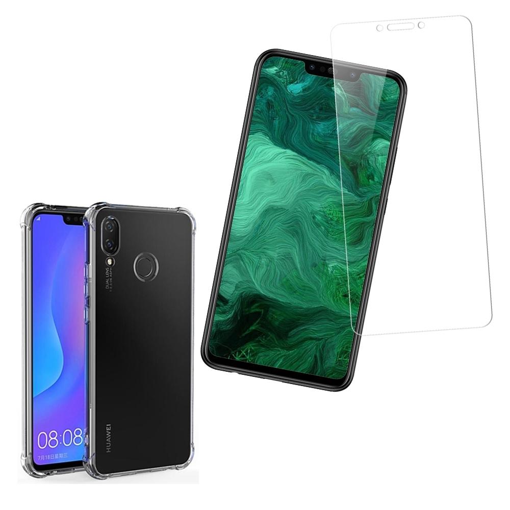 [買保護貼送手機殼] 華為 Nova 3i 非滿版 高清透明 手機 保護貼 (華為 Nova3i保護貼 Nova3i鋼化膜 )