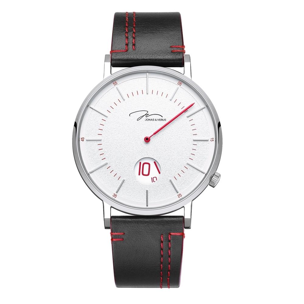 J&V 騎士系列皮帶腕錶41mm(Y02065-Q3.WWWLBR)