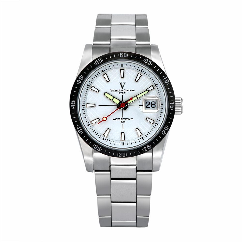 Valentino Coupeau 范倫鐵諾 古柏 經典品味腕錶 (白面)