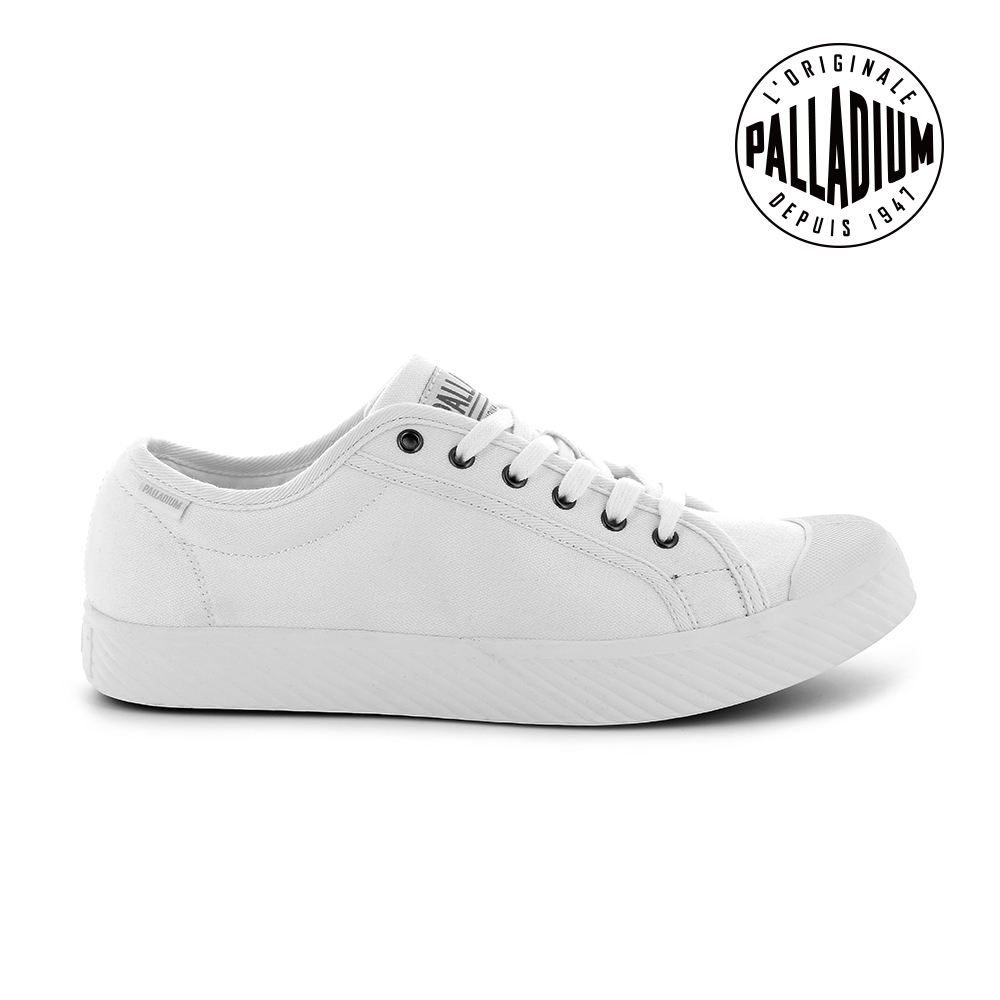 PALLADIUM PALLAPHOENIX OG帆布鞋-男-白