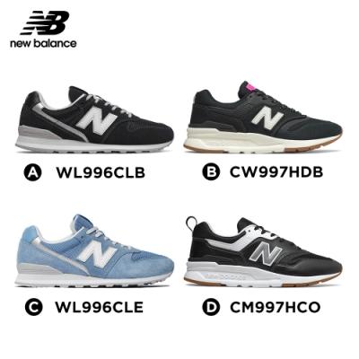 【時時樂限定】New Balance 復古鞋_中性:黑色_女性:藍色/黑色兩款