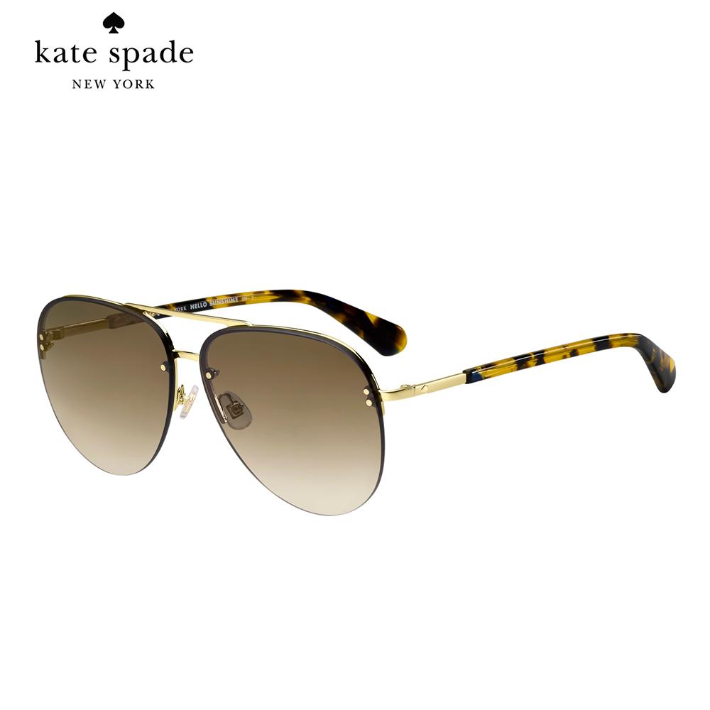 Kate Spade JAKAYLA/S-飛行員太陽眼鏡 玳瑁鏡臂