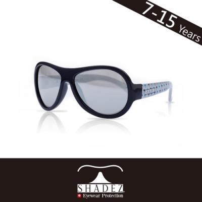 瑞士SHADEZ 兒童太陽眼鏡SHZ-46(年齡7-15)--藍灰椰子樹