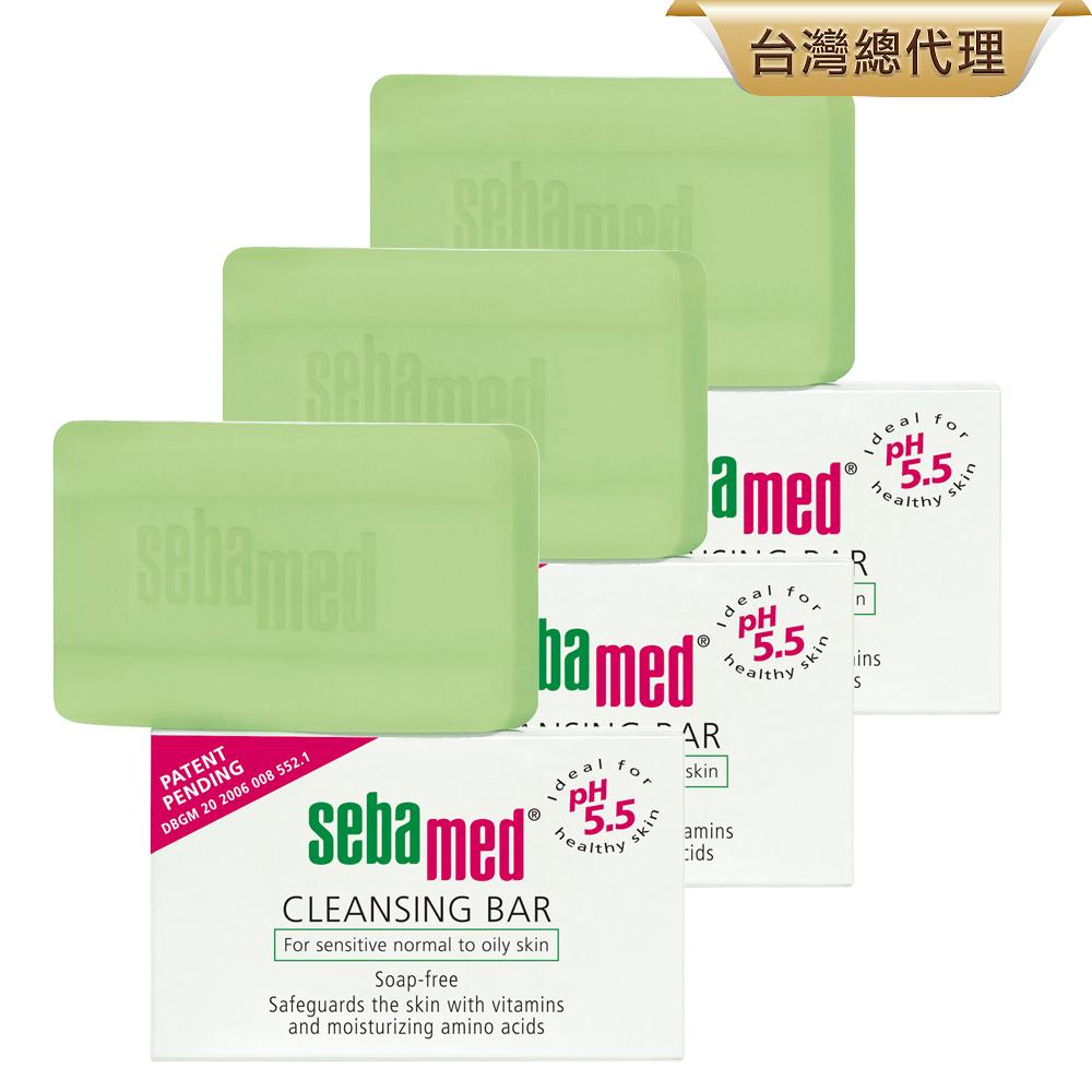 sebamed施巴潔膚皂150g三入