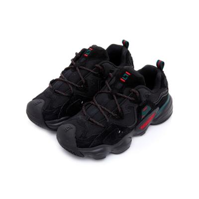 FILA FLOATER 中性慢跑鞋-黑 4-J533T-026