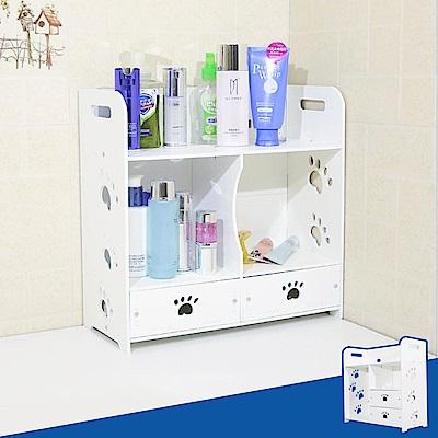 Incare輕巧好組裝-可愛DIY防水收納盒2款可選
