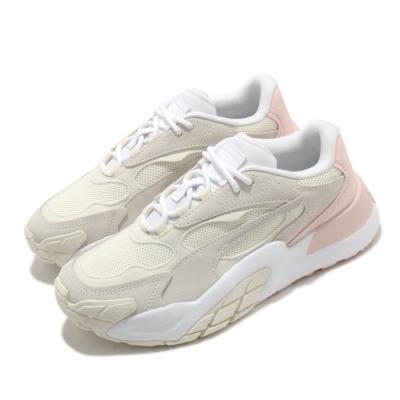 Puma 休閒鞋 Hedra Minimal 女鞋 基本款 簡約 舒適 球鞋 穿搭 鵝黃 白 37511901