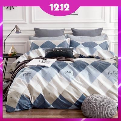 (雙12)A-ONE 100%純棉-床包被套組-單/雙/大 均價