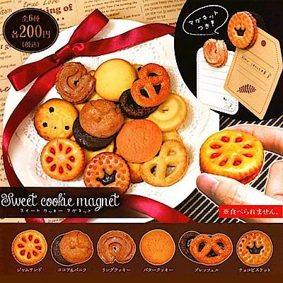 日本正版 全套6款 西點餅乾 造型磁鐵 扭蛋 轉蛋 磁鐵 820511