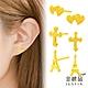 金緻品 9999黃金耳環 0.24錢 7選1 product thumbnail 1