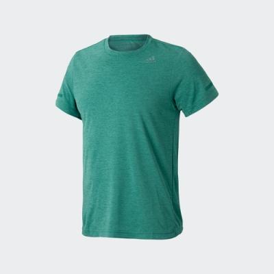 adidas  短袖上衣 休閒 運動 訓練 男款 綠 EI6389 CHILL TEE M