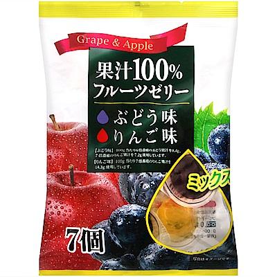 Mama 綜合鮮果凍-葡萄&蘋果(168g)