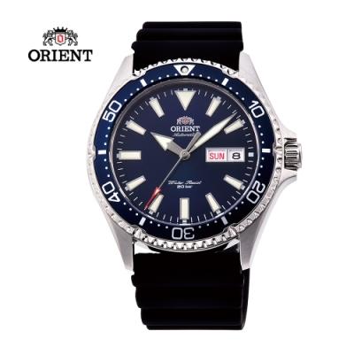 ORIENT 東方錶 WATER RESISTANT系列200m潛水錶-藍色41.8 mm