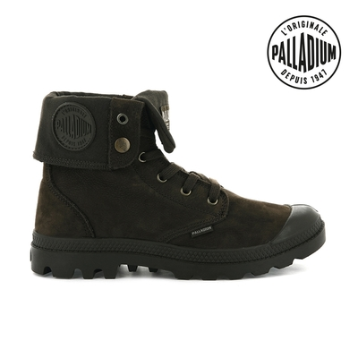 PALLADIUM PAMPA BAGGY NBK反摺皮革靴-中性-咖啡