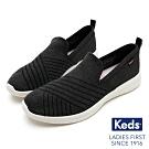 Keds STUDIO HART 完美包覆輕量斜紋休閒鞋-黑色