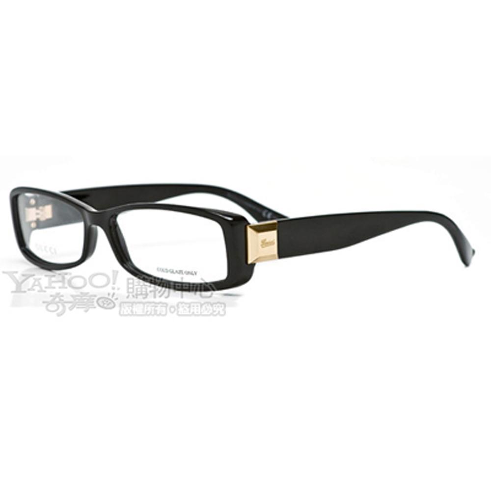 GUCCI-時尚光學眼鏡(黑色)GG3024-D28