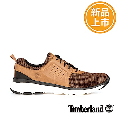 Timberland 男款淺棕色淺口運動鞋