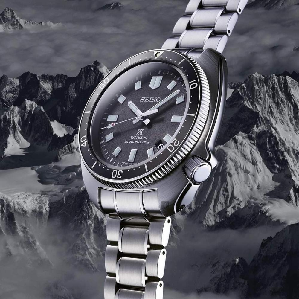 SEIKO精工 PROSPEX 植村直己 1970 機械潛水錶 現代詮釋版(SLA051J1/8L35-01G0N)