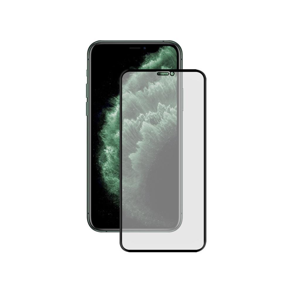 LUCCIDA Apple iPhone 11 Pro Max 霧面冷雕玻璃貼【3D滿版】
