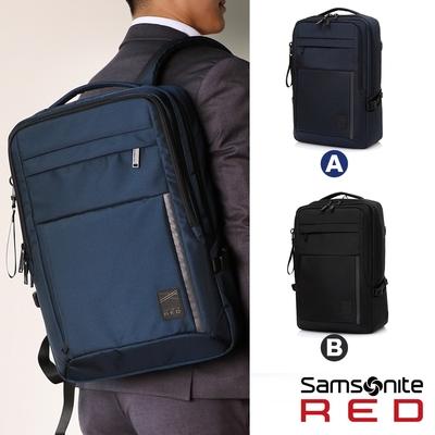 【時時樂限定】Samsonite RED PLANTPACK 2 15.6吋筆電後背包L(黑/海軍藍) 限時優惠價$3,699