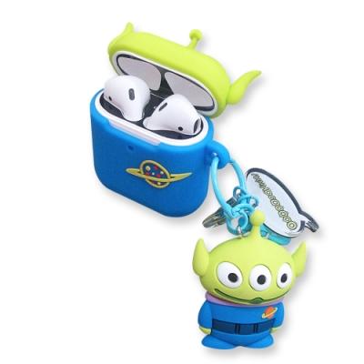 迪士尼 正版授權 Airpods 立體公仔 藍牙耳機保護套 1/2代通用款(三眼怪)