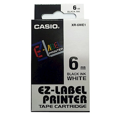 (團購20捲) CASIO 6mm標籤機色帶共5色-(另可任選顏色)