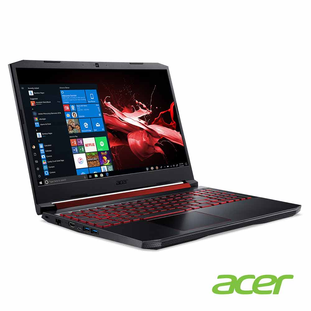 Acer AN515-52-51BY 15吋電競筆電(i5-8300H/1050Ti/(福