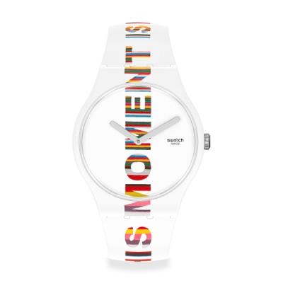 Swatch New Gent 原創系列手錶 TIME S MAGIC 時間魔法-41mm