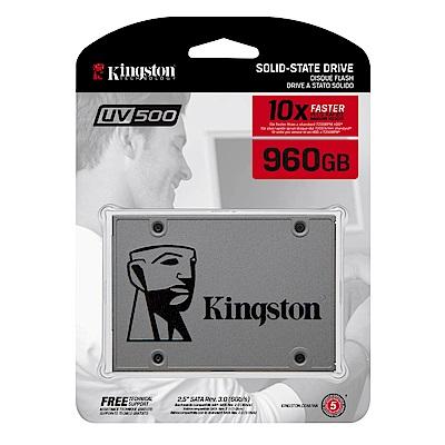 金士頓 UV500 960GB 2.5吋 SATAⅢ SSD固態硬碟