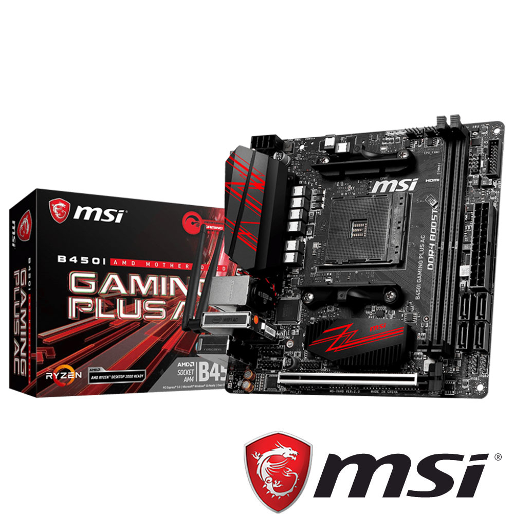 MSI微星 B450I GAMING PLUS AC 主機板