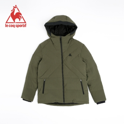 法國公雞牌羽絨外套 LNI6158047-男-墨綠