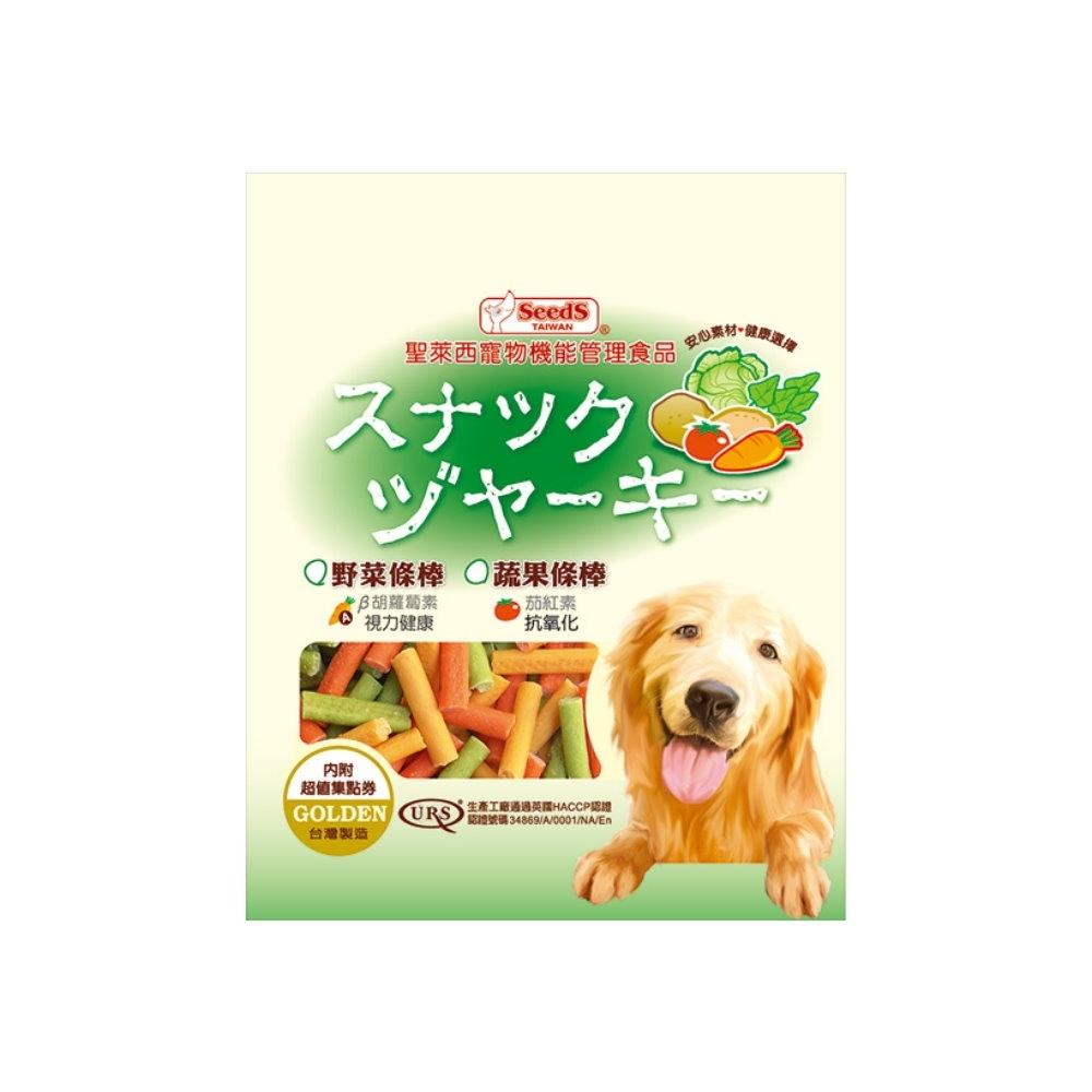 SEEDS聖萊西-寵物機能管理食品黃金系列-野菜條棒-280g-VEG-280