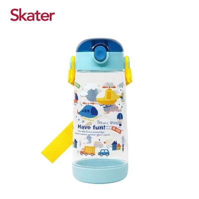 【日本 Skater】PET吸管水壺(480ml) (3款任選)