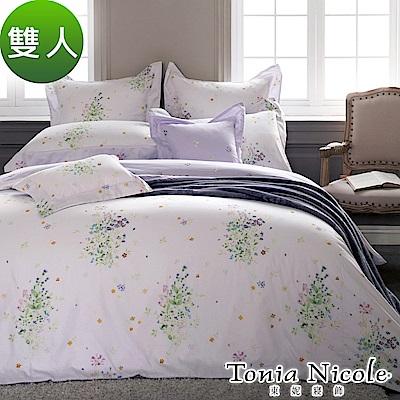 Tonia Nicole東妮寢飾  普羅旺斯環保印染100%精梳棉兩用被床包組(雙人)