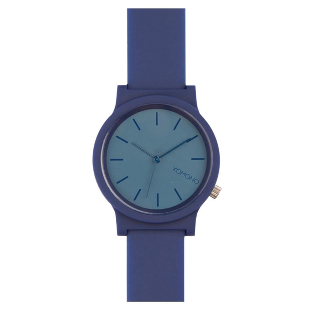 KOMONO FAT Wizard 腕錶-海軍藍/37mm