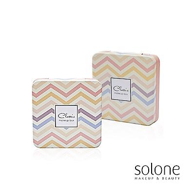 Solone 簡約主義4格隨身彩盒