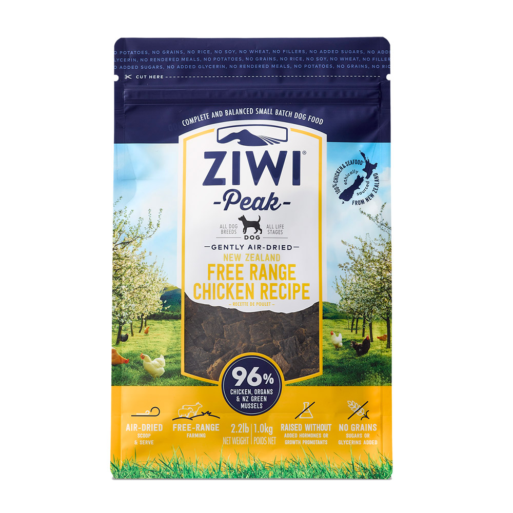 ZiwiPeak巔峰 96%鮮肉狗 雞肉 1KG