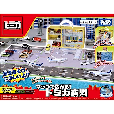 任選 TOMICA 機場地圖提盒 TW13219 TAKARA TOMY