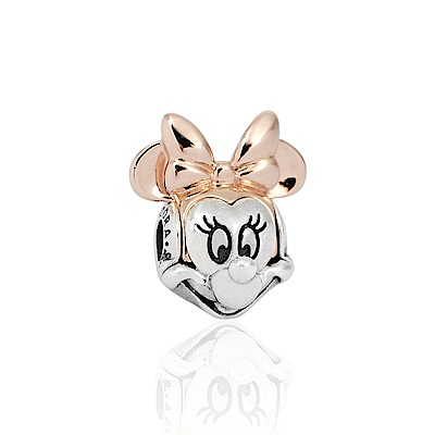 Pandora 潘朵拉 迪士尼系列 魅力雙色米妮 純銀墜飾 串珠