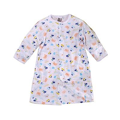 嬰兒薄款護手長睡袍 k51107 魔法Baby